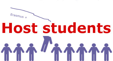 Host students