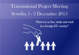 Transnational meeting Scordia
