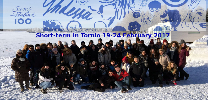 Short-term Exchange in Tornio 19-24 February 2017